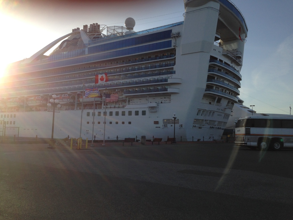 Ogden Point May 2014 Cruise Ships (3/6)