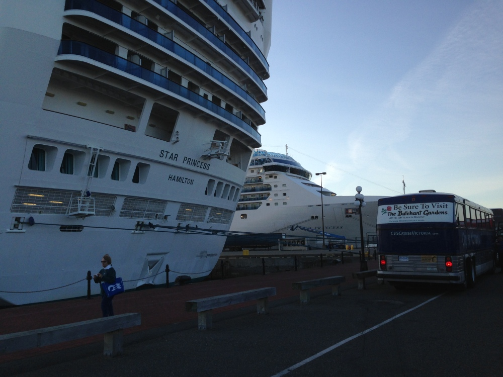 Ogden Point May 2014 Cruise Ships (4/6)