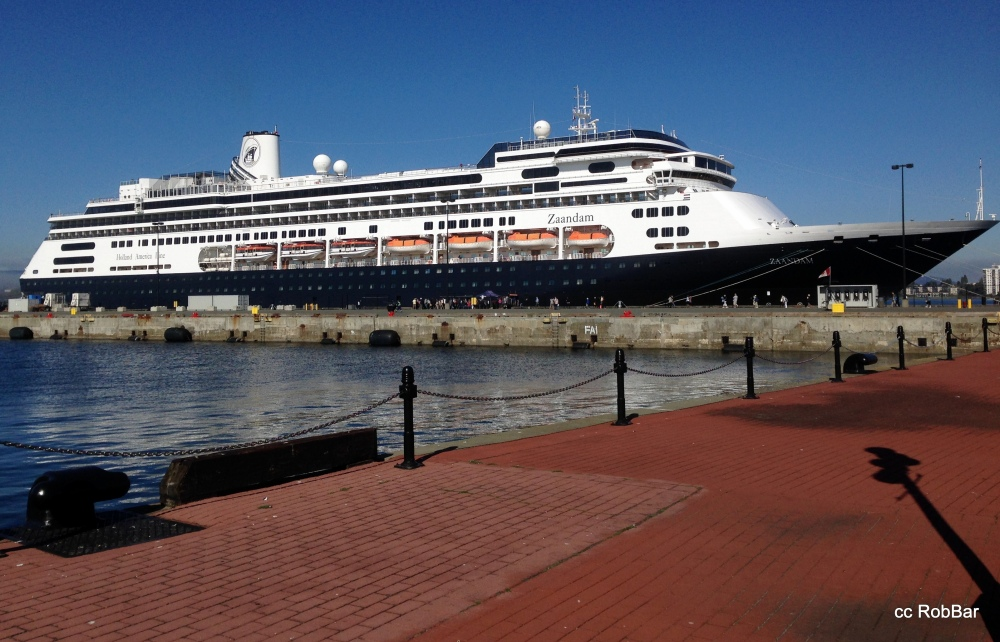 Ogden Point:   End of Alaska Season 2014 - ms Zaandam (1/6)