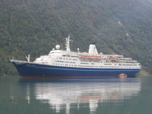 Marco Polo in Balestrand, Norway