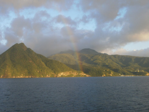 Close cruising Dominica