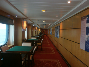 Two Deck, forward to aft view