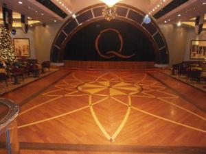 QM2 ballroom